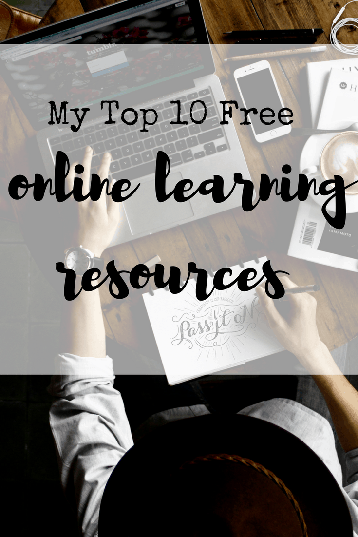 10 free online learning resources