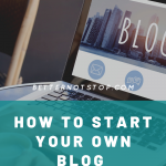 how to start your own blog, How to Start a Successful Blog: A Guide for Beginners