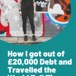 How I got out of debt, How I got out of £20,000 Debt and Travelled the World Full Time.